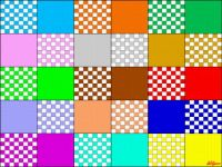 colors and squares