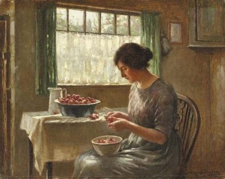 Cleaning Fruit by William Kay Blacklock