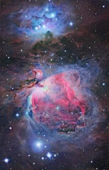 The Orion Nebula is one of the most well known objects in the night sky