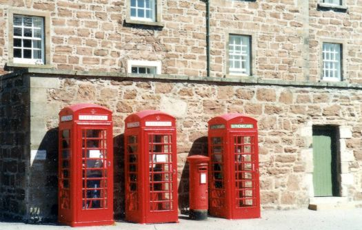 Phone Boxes at Fort George