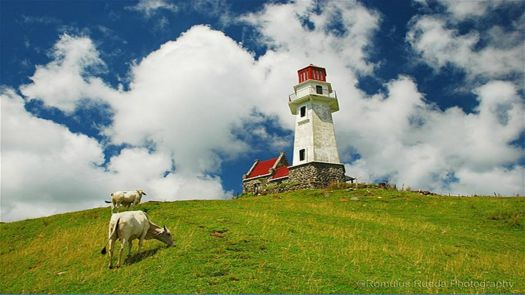Mahatao Lighthouse in the Philippines