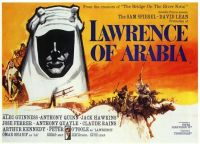 LAWRENCE OF ARABIA - 1962 POSTER  PETER O'TOOLE