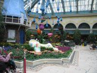 Garden Display at Bellagio Hotel in Vegas