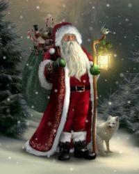 Christmas Vintage - Santa