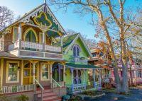 Gingerbread Houses Oak Bluffs, Massachusetts