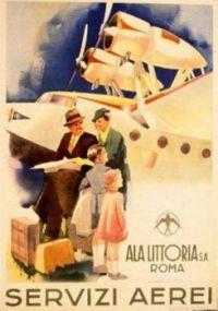 Vintage Air Travel Poster