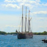 Tall ship Kajama in Toronto