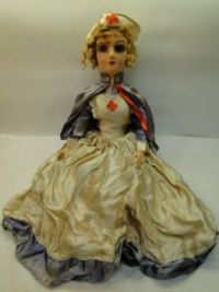 Vintage Boudoir  Nurse Doll From The Mid 20's
