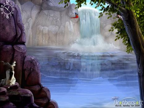 Theme ~ Waterfall Screensaver