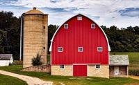 Very Red Barn, Cross Plains, Wisconsin