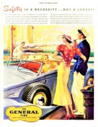 Themes Vintage ads - The General Tire