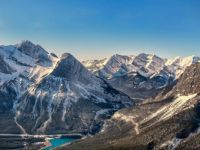 Rocky Mountains near Canmore, Alberta, Canada