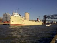 Alpena, Great Lakes Freighter, at Cleveland, OH