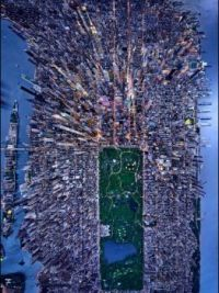 New York City via Satellite