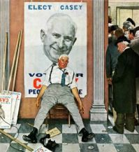 Norman Rockwell - Elect casey