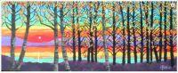 Autumn Treeline by Toni Goffe