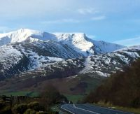 Blencathra - first real snow of winter 2020