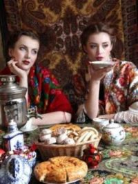 Russian Tea  /  How about a Russian Tea Party!  / Loan me your Samovar?