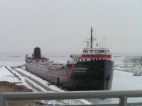 William G Mather - Great Lakes Steamship Freighter Museum - Cleveland, OH (2009-01-25)
