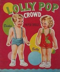 Themes Vintage illustrations/pictures - Lolly Pop Crowd Paper Dolls