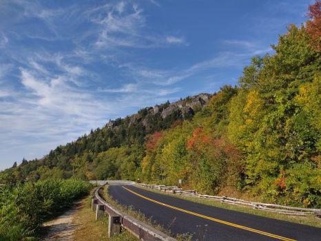 Blue Ridge Parkway in NC