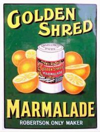 Vintage ad - Golden Shred Marmalade