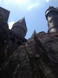 Hogwarts from below