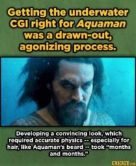 15 Movie Visual Effects That Were Insanely Hard To Pull Off - Aquaman