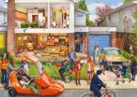 Gibsons Memory Lane Our House 1970s Jigsaw