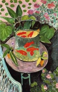 'The Goldfish', 1912 (oil on canvas)