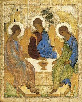 Andrey Rublev. Holy Trinity (Troitsa)