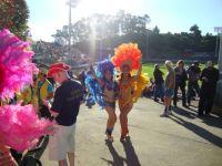 DSC01815  Cheerleaders at speedway