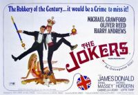 THE JOKERS - 1965 MOVIE POSTER  MICHAEL CRAWFORD, OLIVER REED, HARRY ANDREWS
