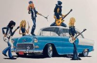 Guns N Roses Chevy