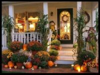 A Beautiful Fall Porch