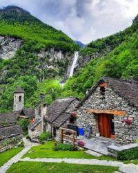 Foroglio, Ticino - Switzerland.  6023