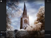 Chesterfield Crooked Spire Derbyshire