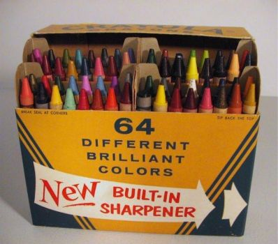 Remember Crayola Crayons 64