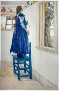 "Carl Larsson, ""Suzanne and Another"" 1901"
