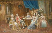 Galante Tischgesellschaft