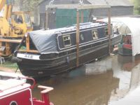 NARROWBOAT out for repair
