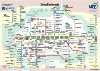 Munich metro map