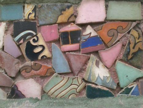 Watts Tower mosaic