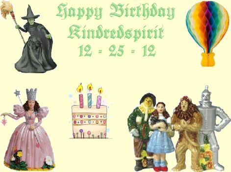 Happy Birthday Kindredspirit