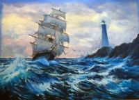 Violet Parkhurst Clipper Ship 1984