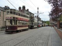 Classic Trams at Beamish