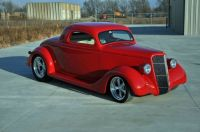 1935 Custom Ford Hot Rod coupe
