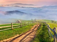 Fog in the valleys