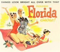 Themes Vintage Travel Poster - Florida