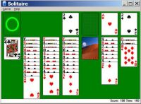 Solitaire win #2